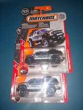 (2) NEW 2018 Matchbox Ford F-350 Super Duty MBX Rescue 54/125 65th Anniversary