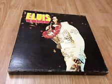 "ELVIS PRESLEY Box Set "" 100 Super Rocks w/ POSTERS "" RCA VICTOR France 1976'"