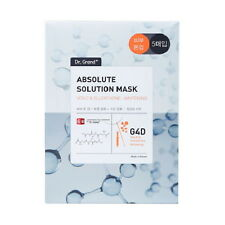 USPS)New Dr.Grand+ Absolute Solution Mask Pack Sheet K-Beauty Skin Care-Vita C