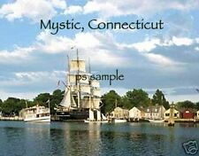 Connecticut - MYSTIC SEAPORT - Travel Souvenir Magnet