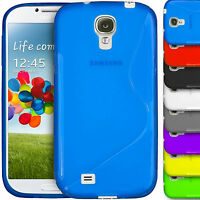 S-Line Case Gel Rubber Skin TPU Wave Back Cover Samsung Galaxy S4 i9500 i9505