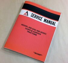 ALLIS CHALMERS 400 SERIES 410-3SP 410S 414S 416S H GARDEN TRACTOR SERVICE MANUAL