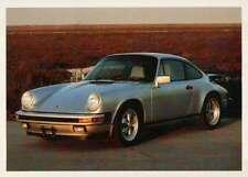 Silver Porsche Carrera, Dream Cars Trading Card, Automobile --- Not Postcard