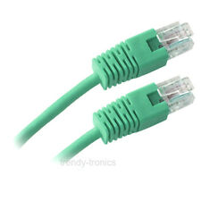 2M CAT5E RJ45 Ethernet Patch Network Cable - GREEN