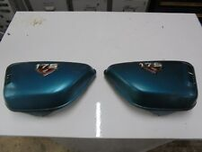 honda cb175 1974 twin pair of side panels with badges