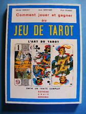 Debost Berthier Dumas Comment Jouer et Gagner au Jeu de Tarot Ed. Chaix 1977