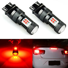 JDM ASTAR 2X 7443 1600LM  Red High Power 14-SMD LED Tail Brake Stop Light Bulbs