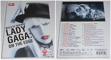 LADY GAGA ON THE EDGE DVD HD 2012 (STAMPA CINESE)