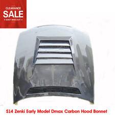 For Nissan S14 Zenki Early Model DM-Style Carbon Fiber Hood Bonnet Parts