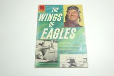 VINTAGE DELL THE WINGS OF EAGLES COMIC 1957 # 790 FROM JOHN WAYNE'S 26 BAR RANCH