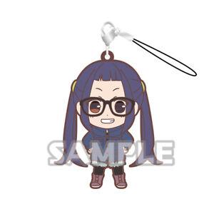 Yuru Camp Swing Mascot Rubber SD Keychain Strap Charm ~ Chiaki Oogaki @71738