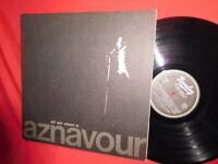 CHARLES AZNAVOUR Del mio amare te LP 1975 EX+ Italy First Pressing