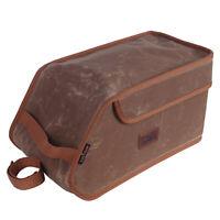 Tourbon Vintage Bike Rear Carrier Pack Trunk Pannier Insulated Lunch Cooler Bag