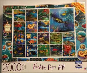 2000 Piece Finchley Paper Arts Puzzle - Undersea Garden 2