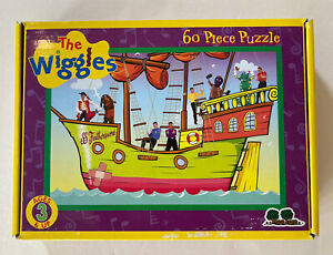The Wiggles 60 Piece Puzzle Captain Feathersword's Ship Greg Jeff Murray Anthony