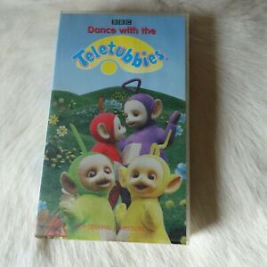 DANCE WITH THE TELETUBBIES VHS Video Tape 1997 FAMILY Musical CHILDREN British