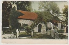 Isle of Wight postcard - Bonchurch - FGO Stuart No. 164 - P/U 1907