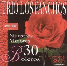 LOS PANCHOS : Nuestros 30 Mejores Boleros 1 CD