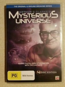 Arthur C. Clarke's Mysterious Universe (4-DVD, 2008) DISCOVERY CH/ VERY RARE/ R4