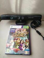 OFFICIAL KINECT SENSOR WITH KINECT ADVENTURES - XBOX 360 - FREE POSTAGE