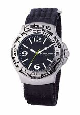 Kahuna Brushed Wristwatches with 12-Hour Dial