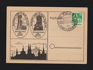 Sonderkarte alli. Besetzung Mi.80eg Heimatvertriebenen Landesverbandstag 1950