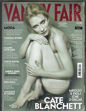 CATE BLANCHETT BAREFOOT Italian Vanity Fair Magazine 10/28/07 WINONA RYDER PC