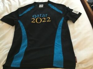 Rare Official Qatar 2022 World Cup Bid Shirt - Size M - Never worn