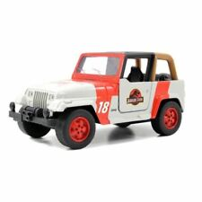 1:32 Jurassic Park Jeep Wrangler -- Jurassic World -- Jada