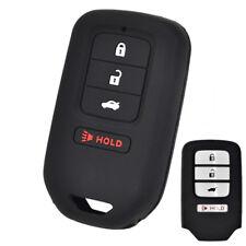 Silicone Key Cover For Honda Accord Civic CRV CRZ HRV Pilot Case Fob Holder