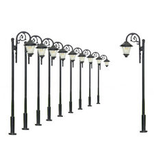 LYM37 10 Stk. LED Lampen 65mm Spur H0 / 00 Leuchte Straßenlampen NEU
