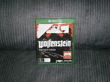 WOLFENSTEIN THE NEW ORDER MICROSOFT XBOX ONE GAME - NEW - FREE POSTAGE