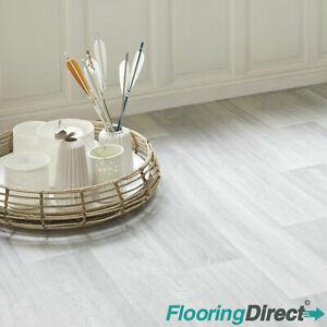 Limed Light Oak Wood Effect Vinyl Roll Cheap Bathroom Flooring 2 3 4 m Wide Lino