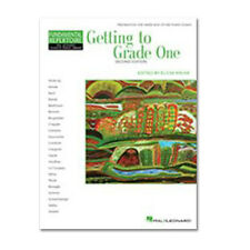 HAL LEONARD STUDENT PIANO LIBRARY SONGBOOK GETTING TO GRADE ONE SONG BOOK HLSPL