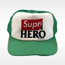 Supreme Antihero Skateboards Green Mesh Trucker Hat