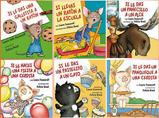 SPANISH IF YOU GIVE Collection  / Si se le da la colección infantil de 6 Libros!
