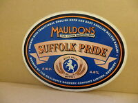 Mauldons Suffolk Pride Ale Beer Pump Clip 2