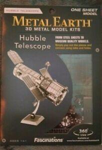Fascinations Metal Earth Hubble Telescope NIB