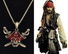 PIRATI DEI CARAIBI COLLANA Pirates of the Caribbean Johnny Depp JACK SPARROW TOP