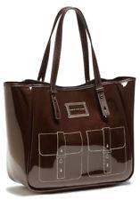 Marc by Marc Jacobs Werdie Clear Solids Tote Bag in Molasses Brown Large Bag