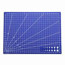 Blue A4 Grid Line Self Healing Cutting Mat Craft Card Fabric Leather Paper Board