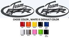 (#171)2 X POLARIS RZR TEAM  MODEL Decal sticker