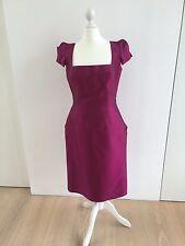 Bellville Sassoon Lorcan Mullany cóctel vestido dress robe talla 38 UK 12 >> nuevo