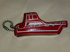 Vintage Nos Floating Key Chain Fly Bridge Boat Water Float