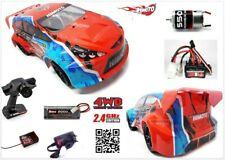 < Rally X Électrique Lames Complet Radioguidé On Road 2.4GHZ Lipo 1:10 Rtr