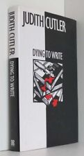 Dying To Write (Signed)  Cutler, Judith