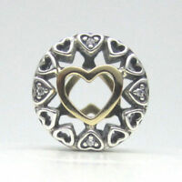 NEW  Authentic Pandora Loving Circle Clear CZ Charm #792009CZ $80