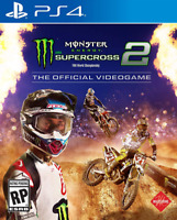 Monster Energy Supercross 2, Official Videogame For Racing Various Platform New