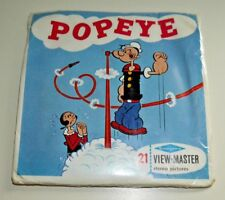 * MINT / SEALED * VINTAGE POPEYE 1962 VIEWMASTER REELS B516 RARE   B446