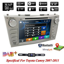 """8"""" for Toyota Camry/Aurion 2007-2011 GPS Navi Car Stereo DVD Player with HD Cam"""